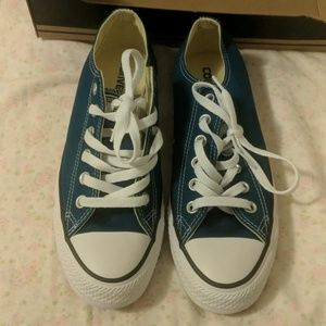Brand New, Chuck Taylor, teal low top